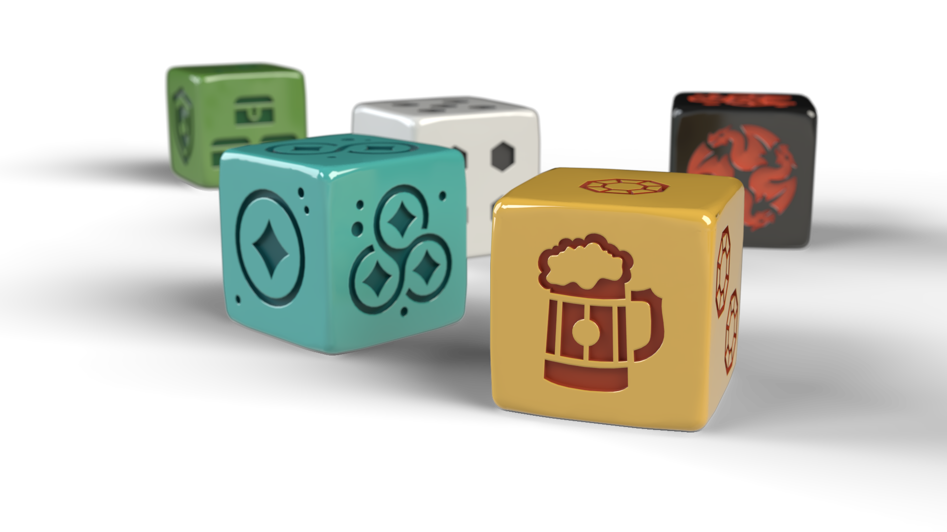 DiceMiner Components Dice
