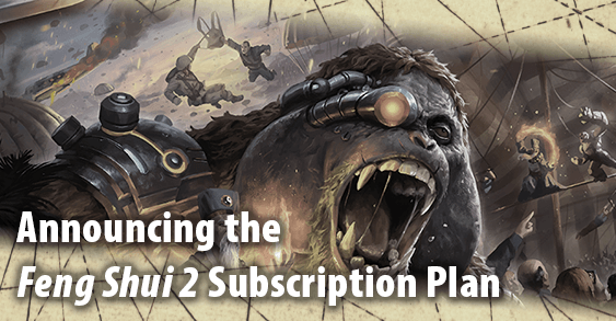 Announcing the Feng Shui 2 Subscription Plan