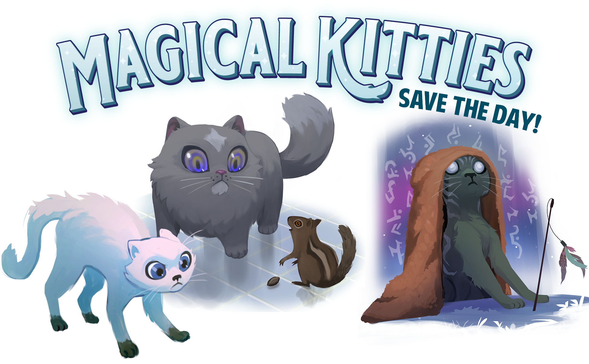 Launched & Funded on Kickstarter: Magical Kitties Save the Day