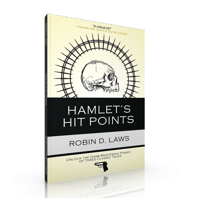 Hamlet's Hit Points 3D Cover