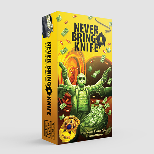 Never Bring a Knife Product Image