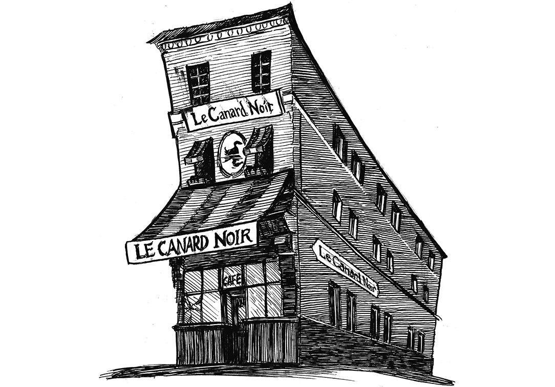 Unhappy Homes   Le Canard Noir