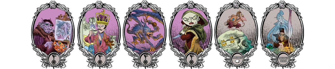 Unpleasant Dreams   Characters