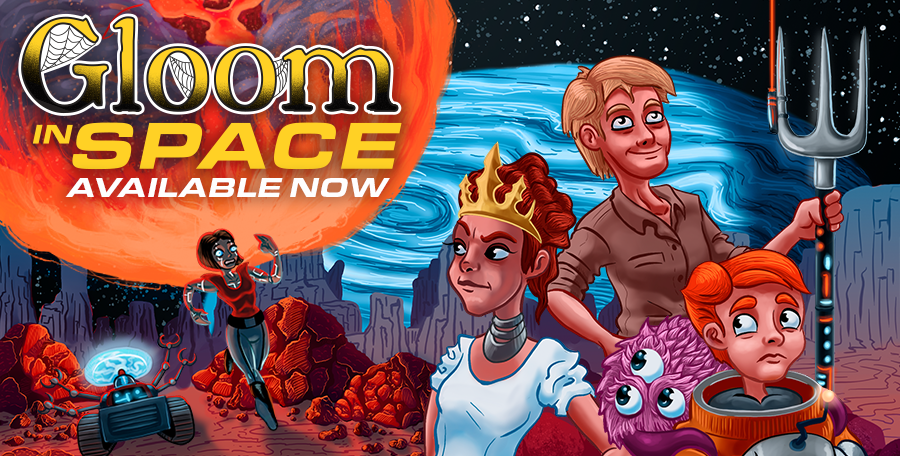Gloom in Space Web Ad