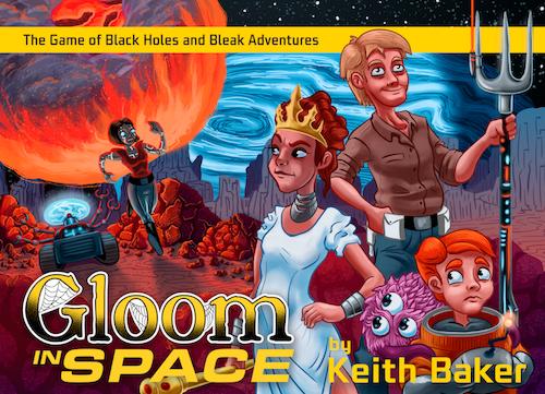 Gloom in Space -  Atlas Games