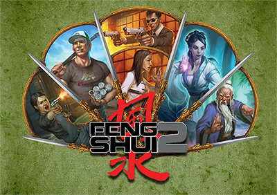 Feng Shui 2 GameMaster Screen: A Fistful of Fight Scenes -  Atlas Games
